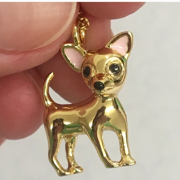 5a5cce2ed kate spade Jewelry - HOST PICK! NWOT Kate Spade Chihuahua Necklace 🐶